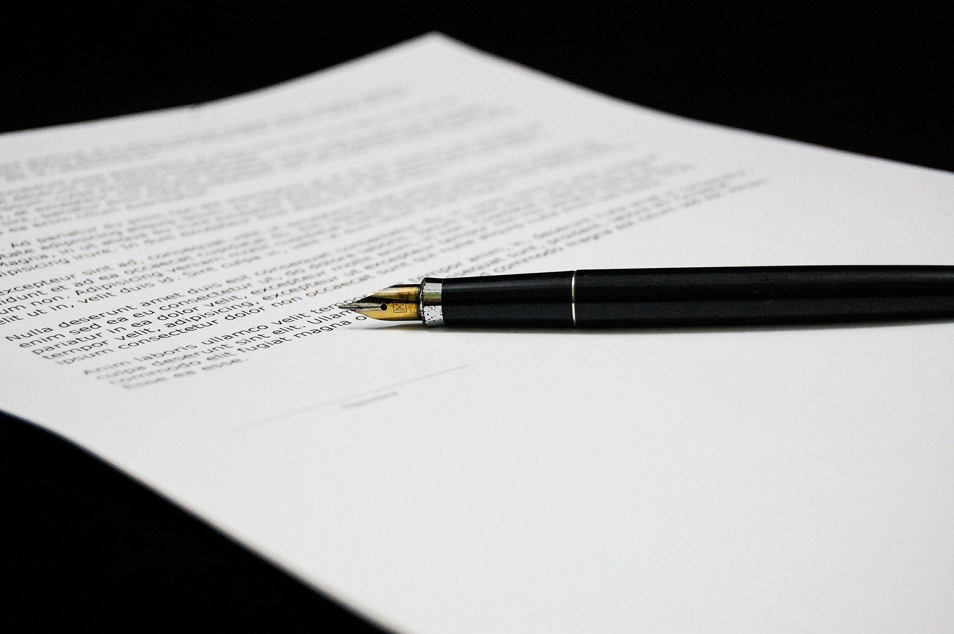 Modulo Secci la trasparenza dei prestiti in un documento